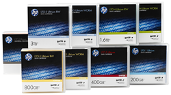 Highest Capacity and Performance of any Comparable Tape Technology