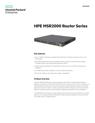 HPE MSR2000 Router Series data sheet