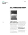 HPE ProLiant MicroServer Gen8 with ideal first server: micro sized, big possibilities data sheet