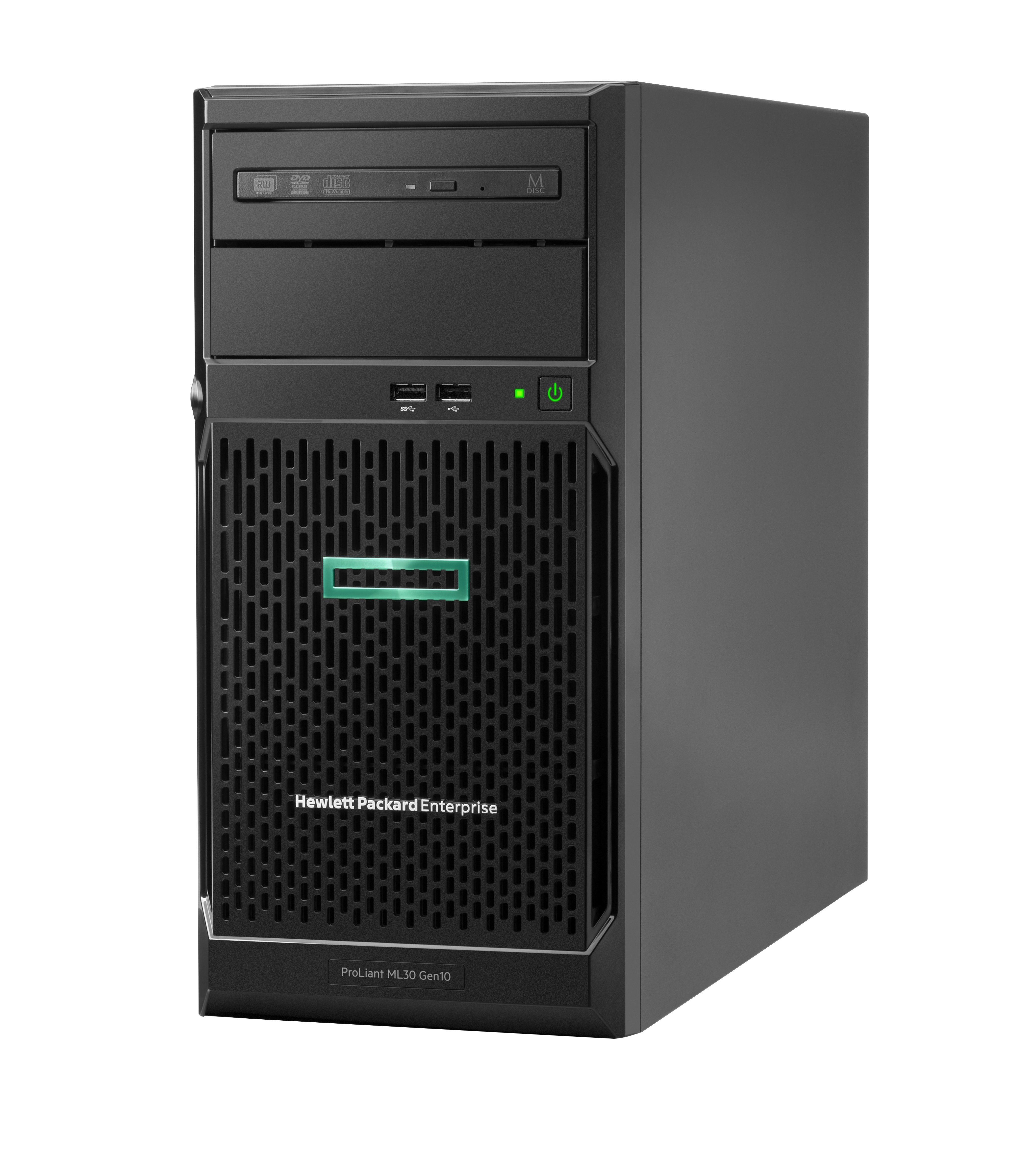 HPE ProLiant ML30 Gen10 Entry 4Bay Tower Server