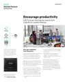 Encourage productivity through HPE ProLiant MicroServer Gen10 with ClearOS for content filtering solution brief