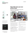 Share files from your own private cloud to HPE ProLiant MicroServer Gen10 with ClearOS as a NAS server solution brief
