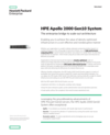 HPE Apollo 2000 System data sheet
