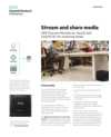Stream and share media on HPE ProLiant MicroServer Gen10 with ClearOS for 4K streaming media solution brief
