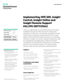 Implementing HPE SIM, Insight Control, Insight Online and Insight Remote Support H1L29S (00753564) course data sheet