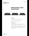 HPE FlexFabric 5700 Switch Series data sheet