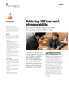 Rabobank achieves 100% network interoperability