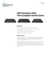 HPE FlexFabric 5700 TAA-Compliant Switch Series data sheet