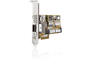 HPE Smart Array P222/512MB FBWC 6Gb 1-port Int/1-port Ext SAS Controller
