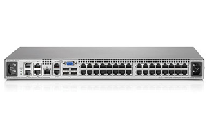 HPE 4x1Ex32 KVM IP Console Switch G2 with Virtual Media CAC Software