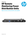 HPE Metered Power Distribution Units data sheet