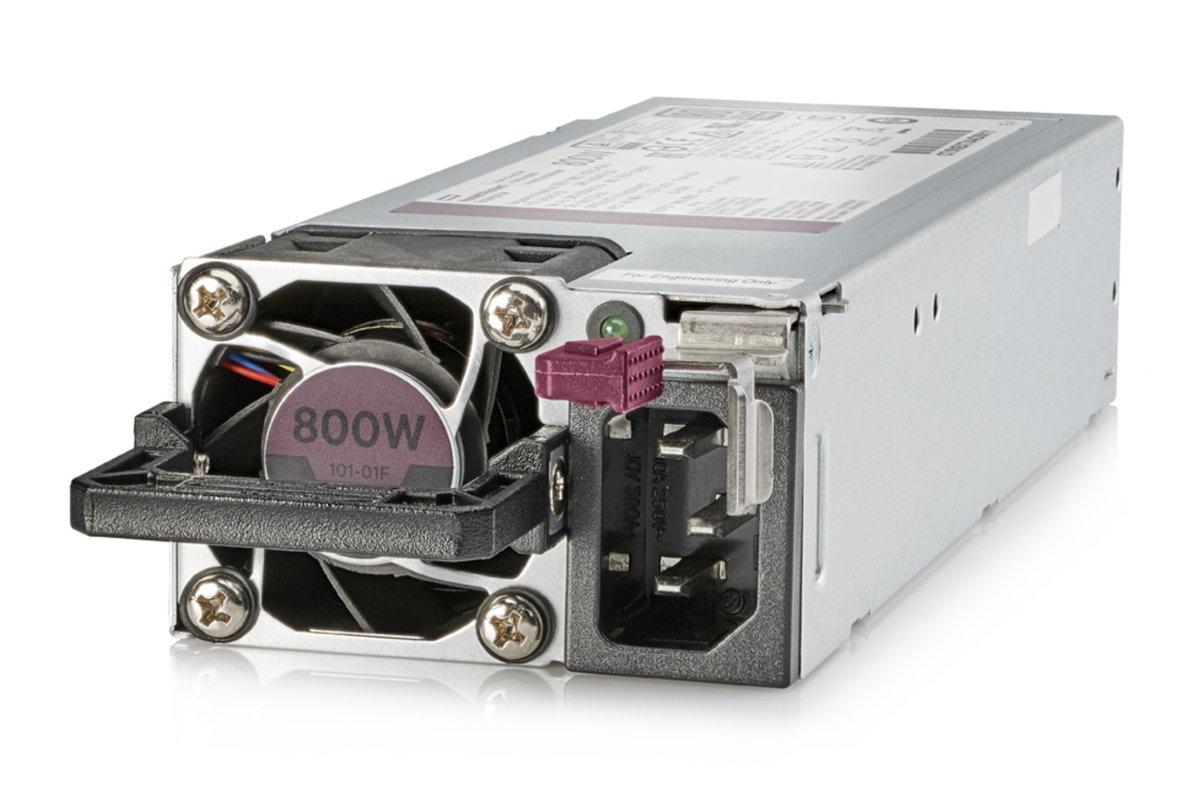 slide 1 of 1,show larger image, hpe 800w flex slot platinum hot plug low halogen power supply kit