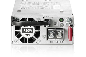HPE 750W Common Slot -48VDC Hot Plug Power Supply Kit