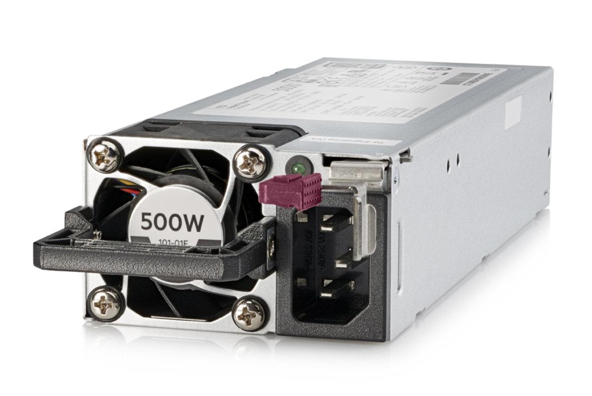 slide 1 of 1,show larger image, hpe 500w flex slot platinum hot plug low halogen power supply kit