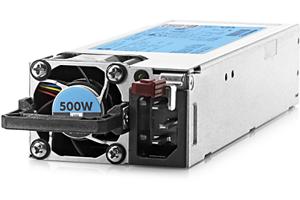 HPE 500W Flex Slot Platinum Hot Plug Power Supply Kit