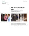 HPE Power Distribution Units for setting new standards for accuracy, automation, and ease of use family data sheet