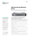 HPE ProLiant DL380 Gen9 Server data sheet