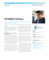 HPE Data Protector and HPE StoreOnce helps reduce backup volumes and costs at SYNNEX Infotech