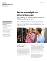 Perform analytics at enterprise scale with HPE Solutions for Apache Hadoop running on SUSE Linux Enterprise Server solution brief