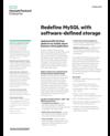 Redefine MySQL with software-defined storage solution brief