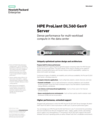 HPE ProLiant DL360 Gen9 Server: Dense performance for multi-workload compute in the data center data sheet
