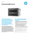 HP ProLiant DL980 G7 Server- Data sheet (US English)