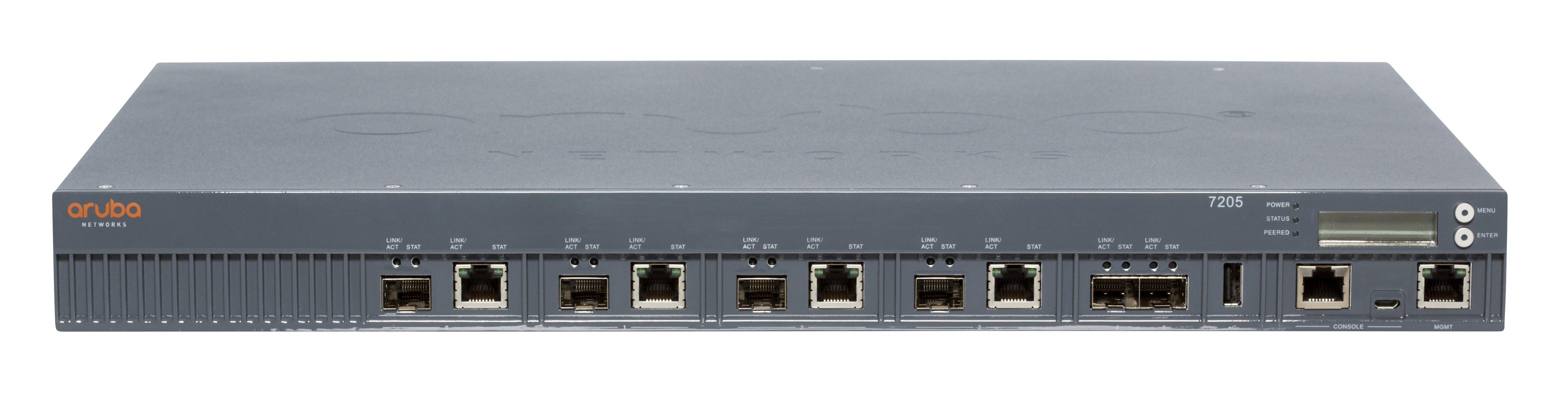 Aruba 7205 Wireless LAN Controller - 4 x Network (RJ-45)