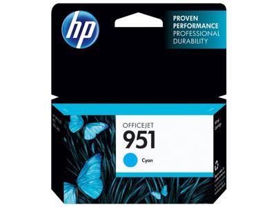 HP 951 Cyan Original Ink Cartridge