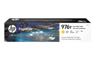 HP 976Y Extra High Yield Yellow Original PageWide Cartridge