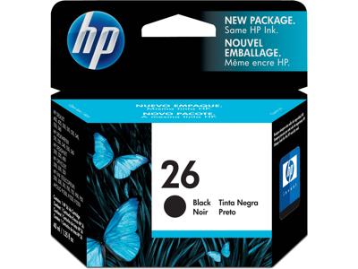 HP 26 Black Original Ink Cartridge