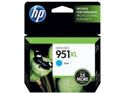 HP 951XL High Yield Cyan Original Ink Cartridge