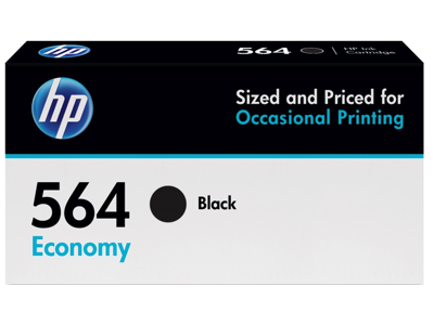 HP 564 Economy Black Original Ink Cartridge