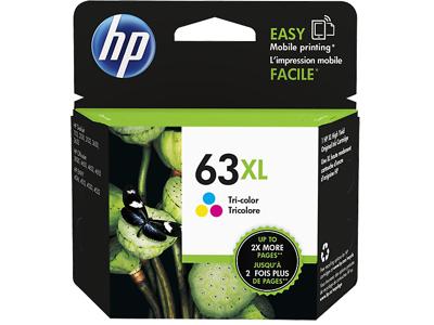 HP 63XL High Yield Tri-color Original Ink Cartridge