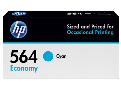 HP 564 Economy Cyan Original Ink Cartridge