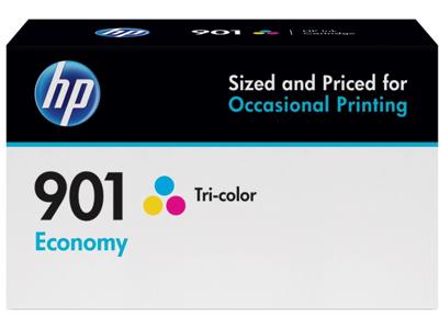HP 901 Economy Tri-color Original Ink Cartridge