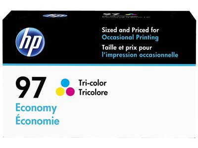 HP 97 Economy Tri-color Original Ink Cartridge