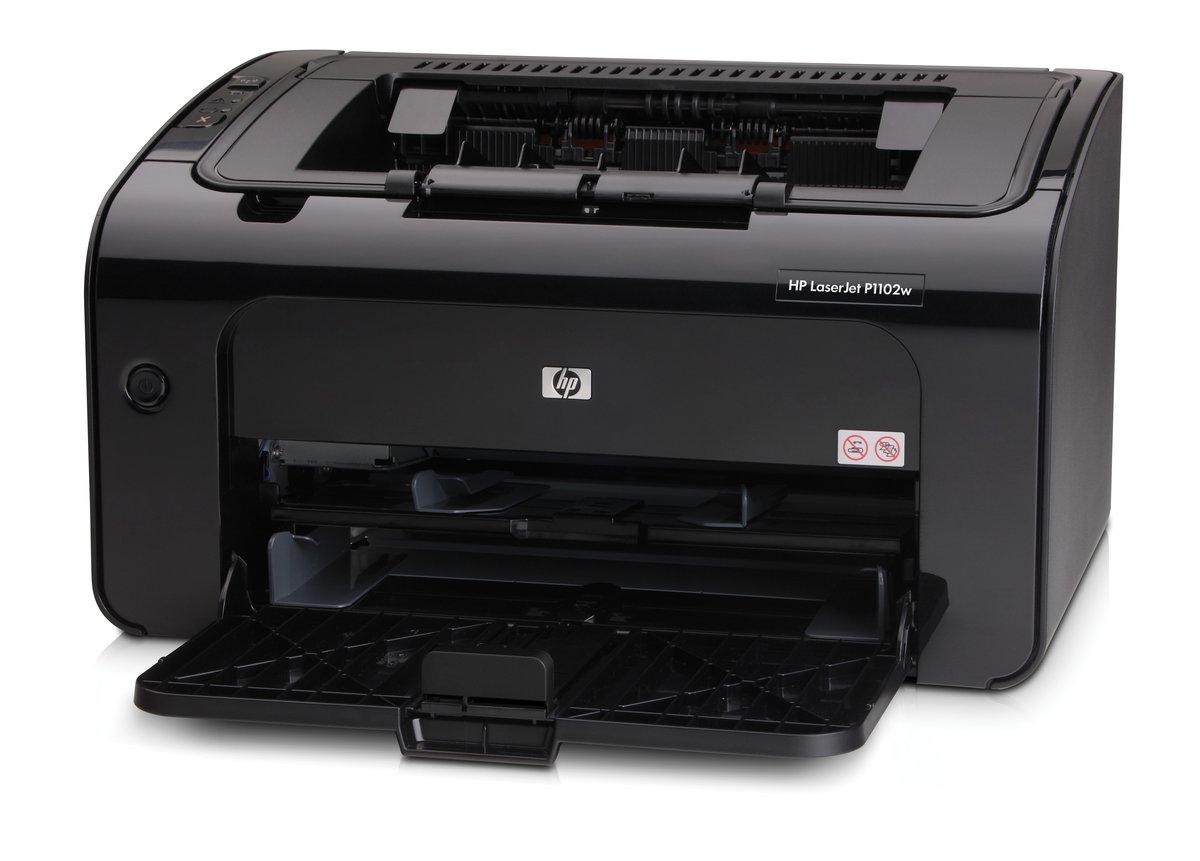 HP LaserJet Pro Wireless Monochrome Laser Printer P1102w by Office ...