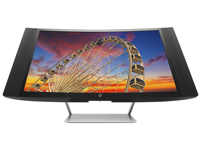 HP Pavilion 27c 27-in Curved Display