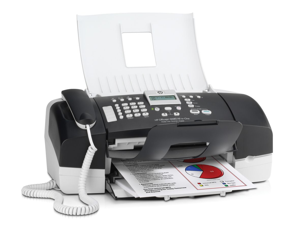 HP OfficeJet J3680 All-In-One Printer (Scratch & Dent) at TigerDirect.com