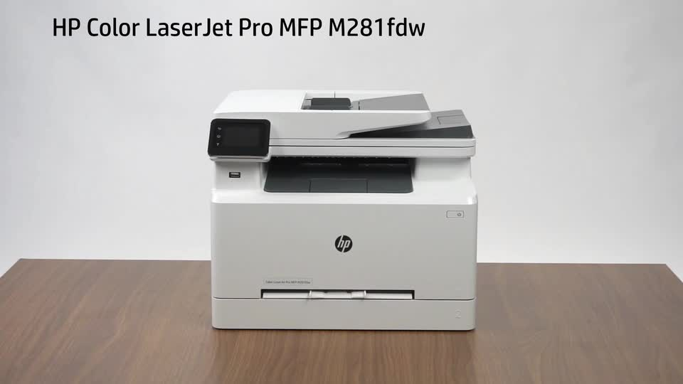 slide 1 of 23,show larger image, hp color laserjet pro mfp m281fdw