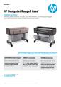 HP DesignJet rugged case (English)