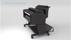 slide {0} of {1},zoom in, HP DesignJet T2500 36-in PostScript Multifunction Printer