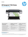 HP DesignJet T795 Printer_LS