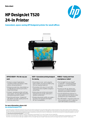 HP DesignJet T520 24-in Printer (English)
