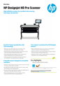 HP HD Pro 42-in Scanner A4 (English)