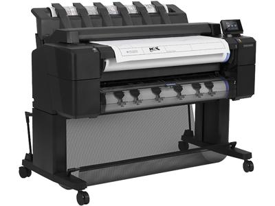 HP DesignJet T2500 36-in PostScript Multifunction Printer