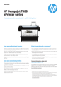 HP DesignJet T520 36in Printer (English)
