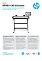 HP HD Pro 42-in Scanner A4 APJ (English)