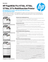 HP PageWide Pro 477dn, 477dw, 577dw, 577z Multifunction Printer