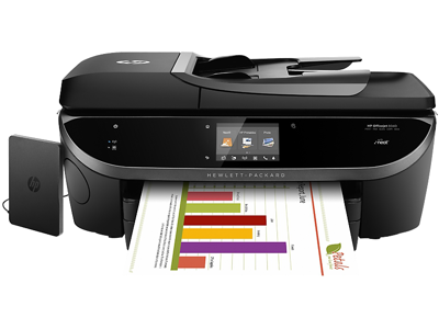 HP Officejet 8040 with Neat e-All-in-One Printer